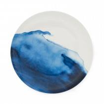 Bliss Dinner Plate  Constantine Bay, White/ Blue