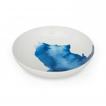 Bliss Supper Bowl Treyarnon Bay White/ Blue