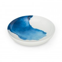 Bliss Supper Bowl St George's Cove, White/ Blue
