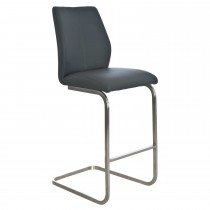Casa Tango Bar Chair - Grey Stool, Grey