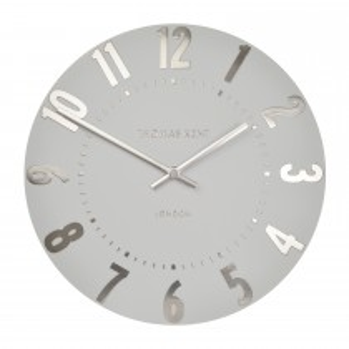 Art Marketing 20 Mulberry Clock, Grey