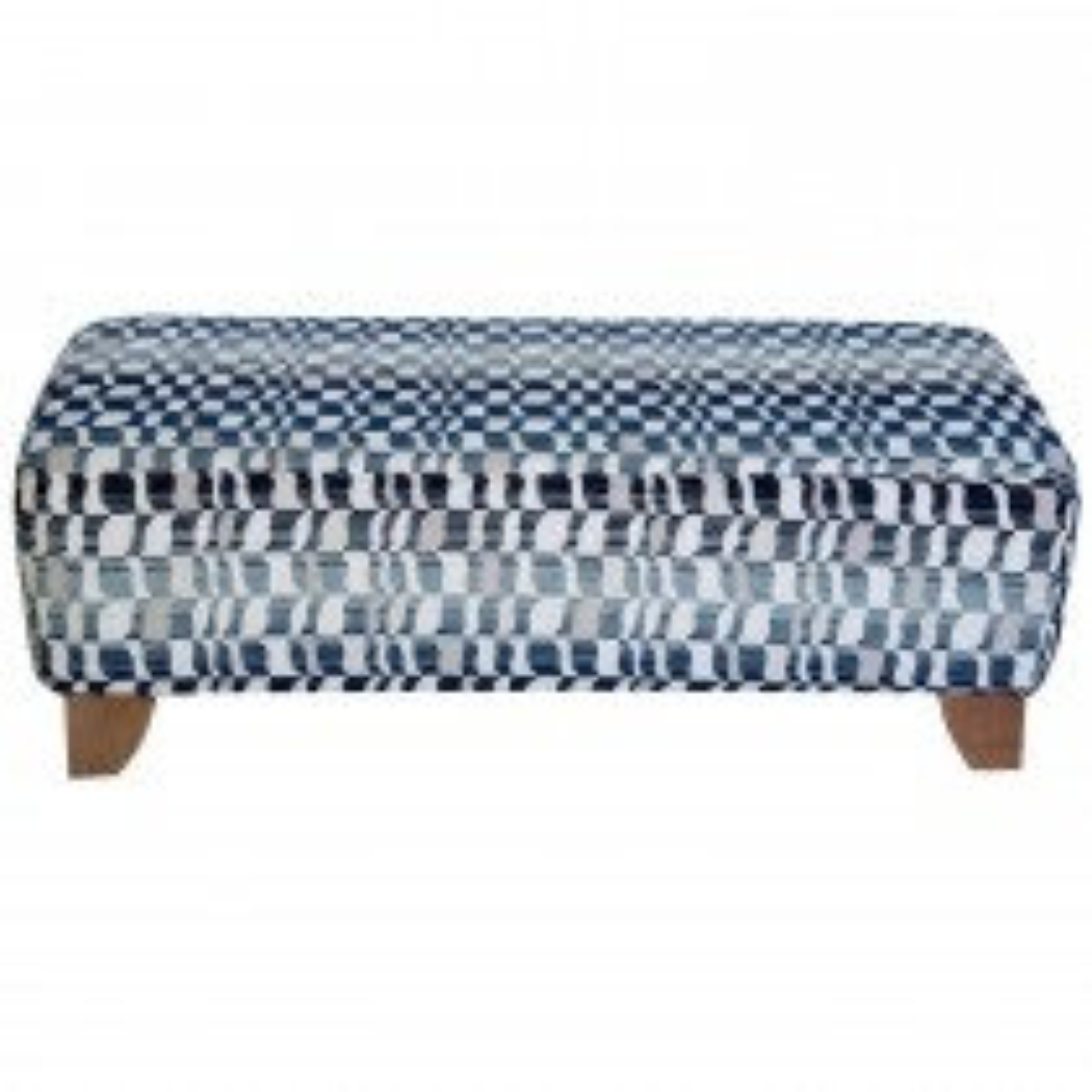 G Plan Upholstery Haywood Footstool Footstool, C973 Wave Midnight
