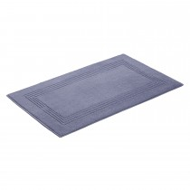 Vossen Vienna Style Supersoft Bath Mat, Smoke Blue