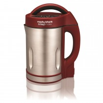 Morphy Richards Soup Maker, Stainless/ Red