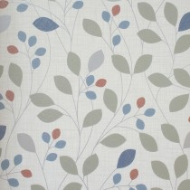 Belgravia Isla Retro Trail Navy Wallpaper