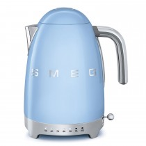 Smeg KLF04PBUK Variable Kettle, Pastel Blue