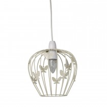 Casa Butterfly Non Electric Shade, Cream