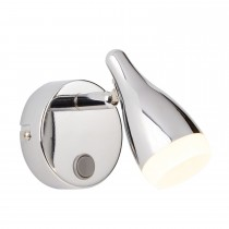 Casa 1lt Led Funnel Head Spot, Silver