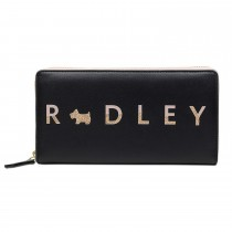 Radley Handbags Large Zip Around Matinee, Black