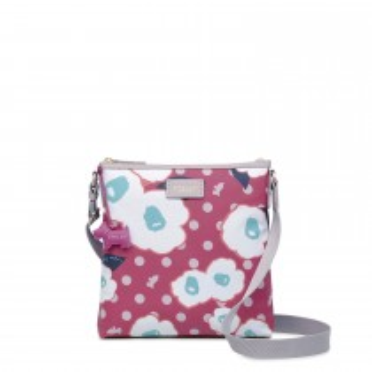 Radley Handbags Medium Ziptop Acrossbody, Magenta