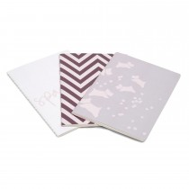 Radley Handbags A5 Notebook Set, Berry