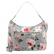 Cath Kidston Curve Shoulder Bag, Dove Grey