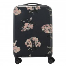 Cath Kidston Hard Shell Cabin Suitcase, Graphite Grey