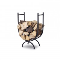 Garden Trading Large Log Holder, Wrought Iron