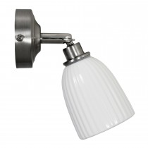 Garden Trading Alma Bathroom Spotlight, Satin Nickel