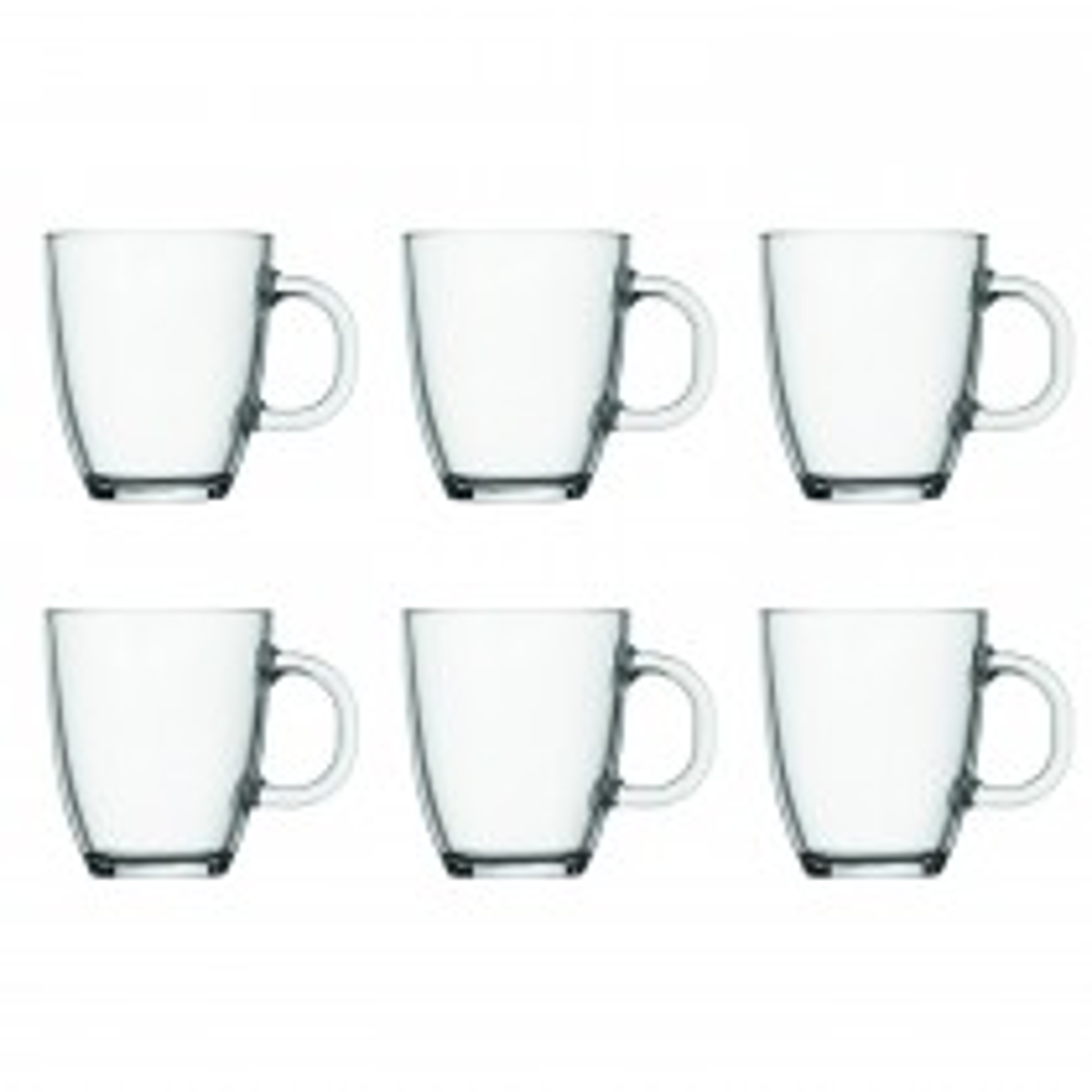 Bodum Bodum Bistro Mug - Pack Of 6 Onesize