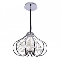 Casa Jacqueline 8 Ceiling Light, Chrome