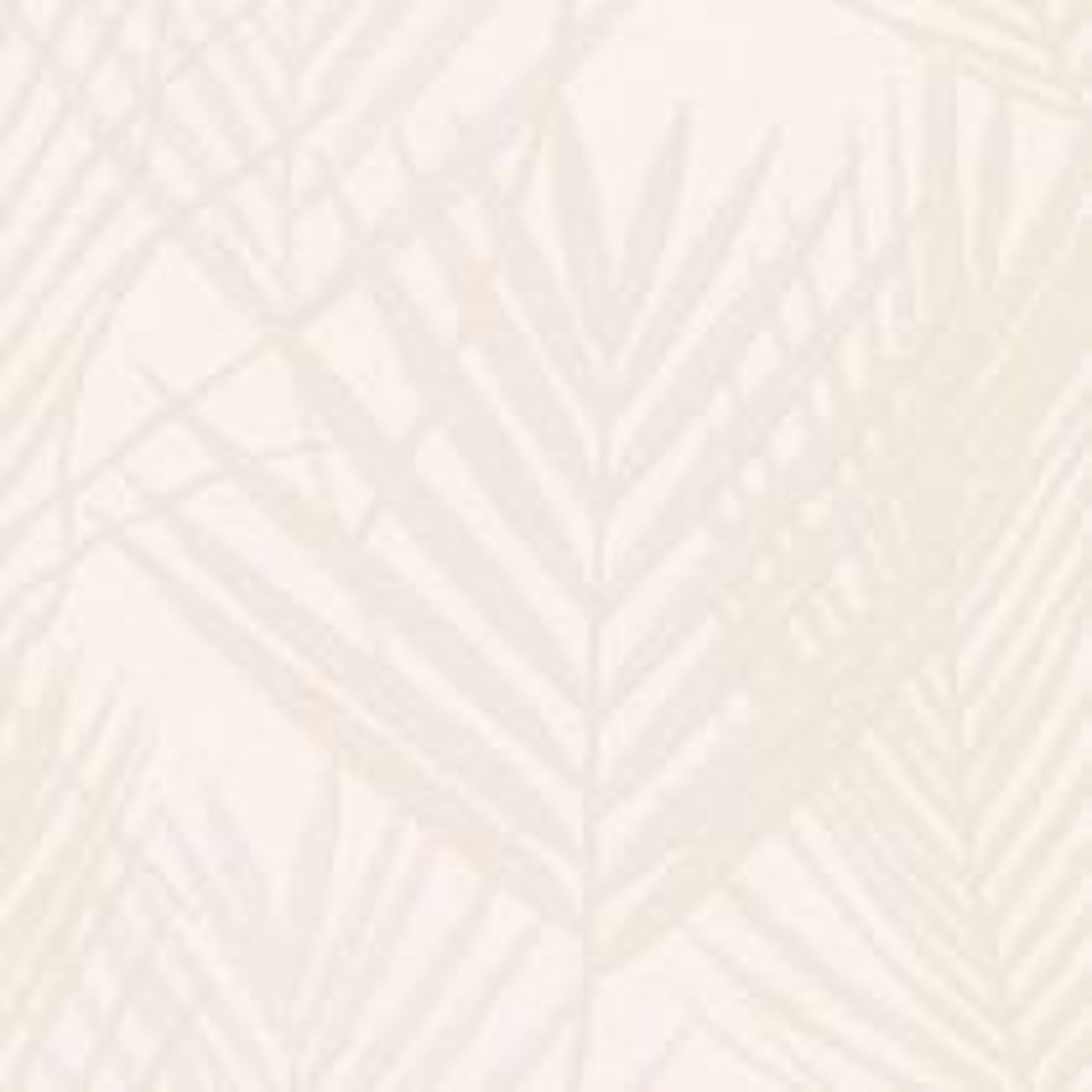 Muriva Palm Leaf Vinyl Wallpaper, Pearl