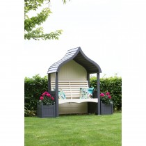 AFK Orchard Arbour, Charcoal & Cream