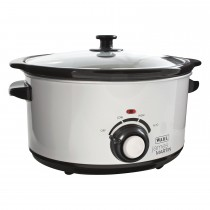Wahl Zx771 5 Litre Slow Cooker, White/black