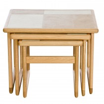 Casa Amber Tile Top Large Nest of Tables