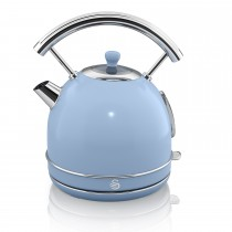 Swan 1.7 Litre Dome Kettle, Blue