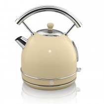 Swan 1.7 Litre Dome Kettle, Cream