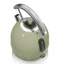 Swan 1.7 Litre Dome Kettle, Green