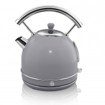 Swan 1.7 Litre Dome Kettle, Grey