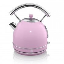 Swan 1.7 Litre Dome Kettle, Pink