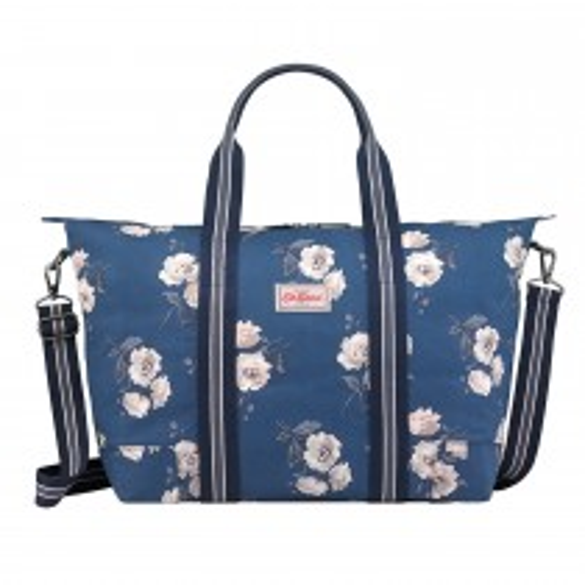 Cath Kidston Foldaway Overnight Bag, Navy