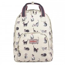 Cath Kidston Multi Pocket Backpack, Cream