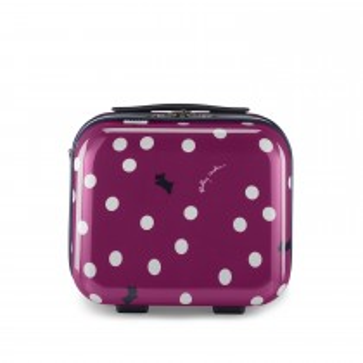 Radley Handbags Vintage Dog Dot Vanity, Magenta