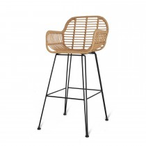 Garden Trading Hampstead Bar Stool, Bamboo