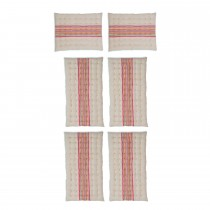 Garden Trading Set Of Chilson Cushions, Small, Sunset Stripe