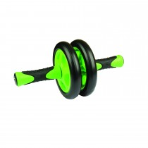 Mad Fitness Duo Ab Wheel, Green/black