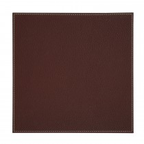 Denby Faux Leather Placemats, Brown