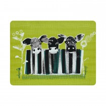 Denby Denby Cow Placemats, Green/yellow