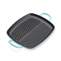 Le Creuset Signature Rectangular Grill, Teal