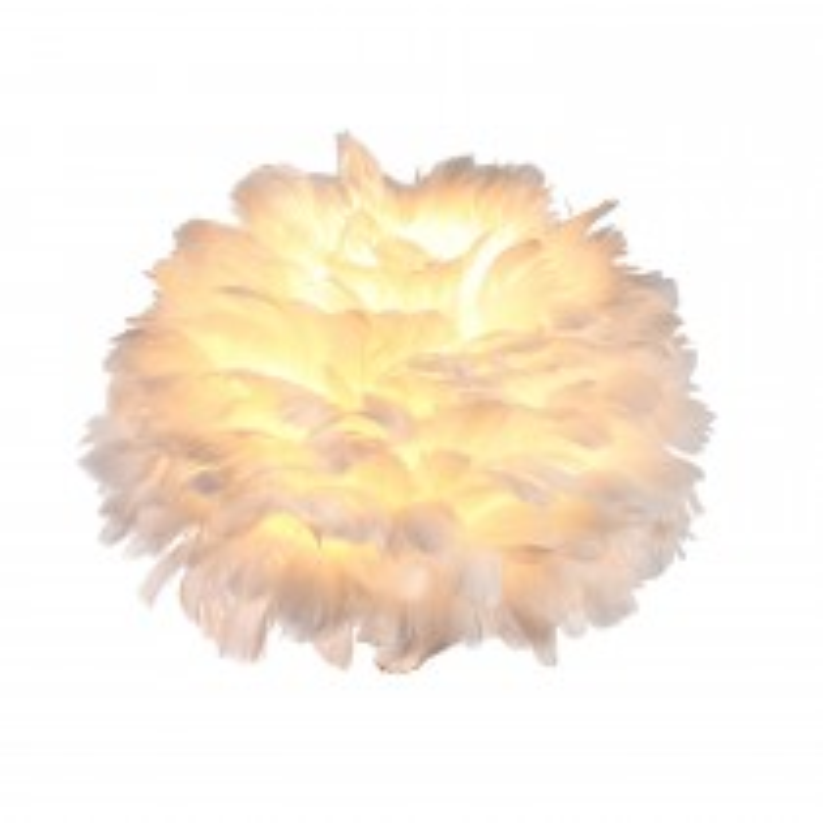 Heron 20cm Ceiling Shade, White