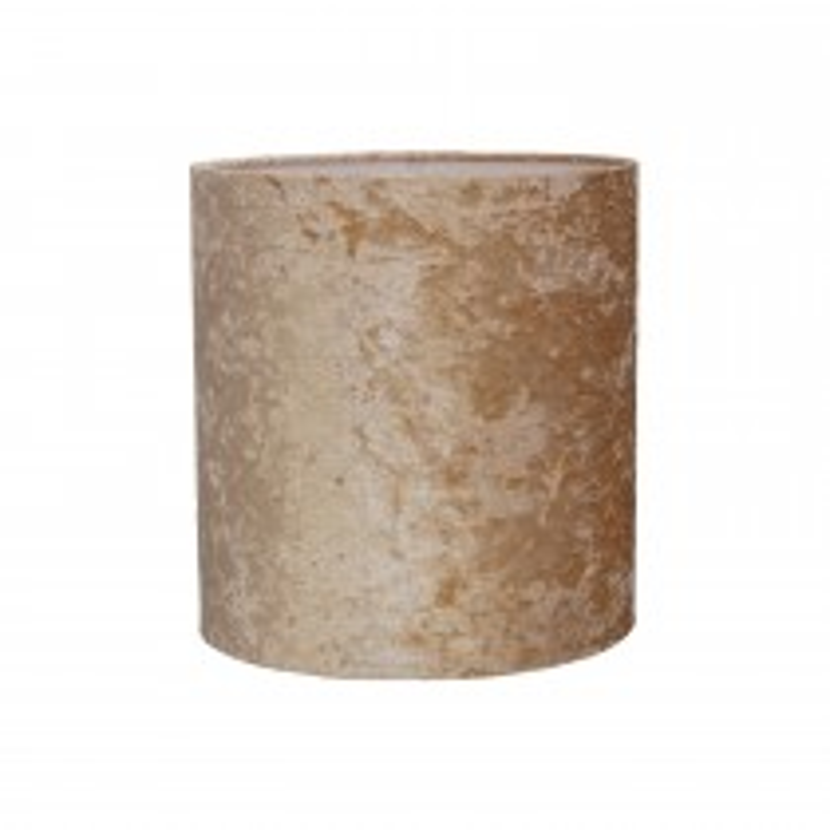 "12"" Cylinder Ceiling Shade, Mink"