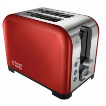 Russel Hobbs 2 Slice Canterbury Toaster, Red