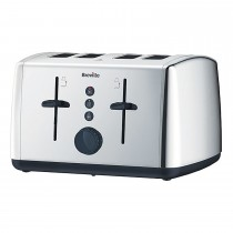 Breville 4 Slice Ss Toaster, Stainless Steel