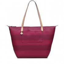 Radley Handbags Large Tote Shoulder Ziptop, Claret