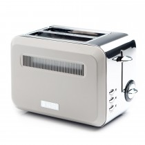 Sabichi Cotswold Putty 2 Slice Toaster, Putty