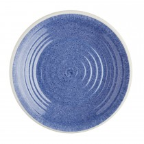 Kitchencraft Santorini Dinner Plate, Blue/Cream