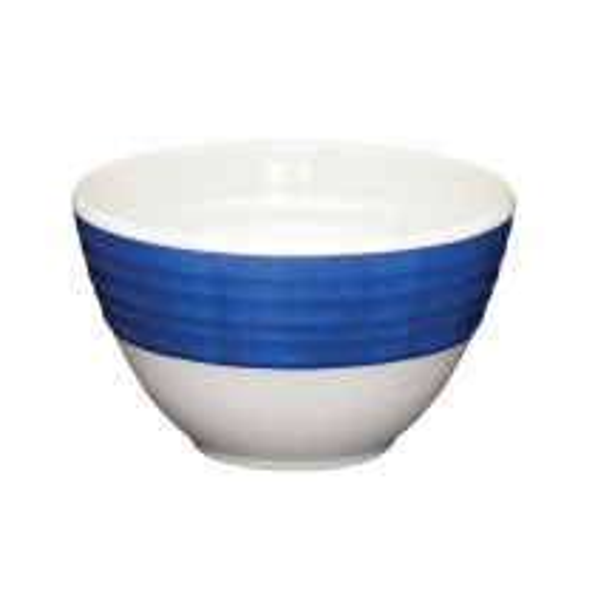 Kitchencraft Santorini 3pc Dipping Bowls, Blue/Cream