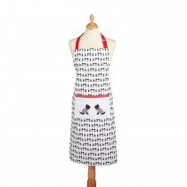 Westie Apron, Red