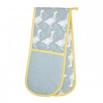 Goose Double Oven Glove, Blue