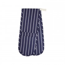 Butchers Double Oven Glove, Navy